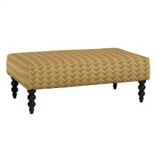 Rockport Large Ottoman, ESTN-GOLD