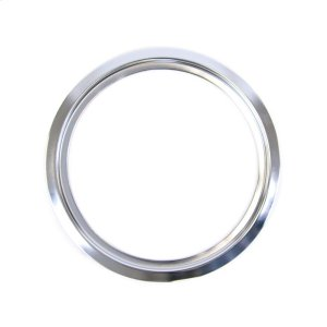 GE8 inch chrome electric range trim ring