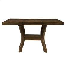 """Dining Table w/18"""" Butterfly Leaf, Mindy Veneer"""