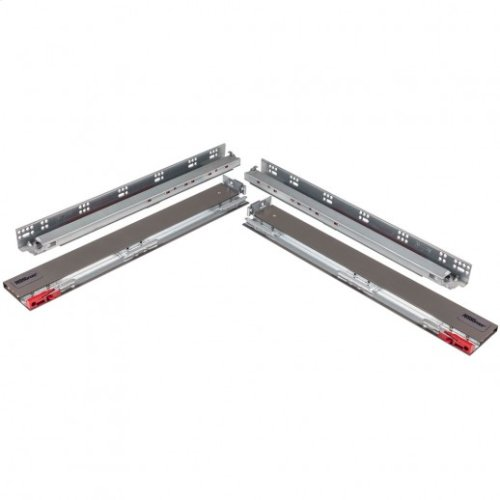 """7-1/4"""" Height x 21"""" Length Dura-Close® Metal Drawer Box System USE58-500 Series Undermount Slides"""