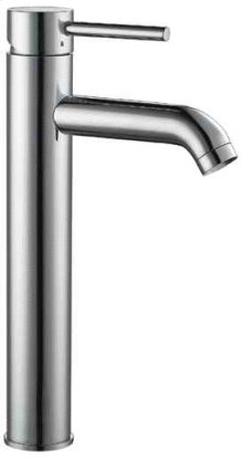 AB1023 Tall Brushed Nickel Single Lever Bathroom Faucet