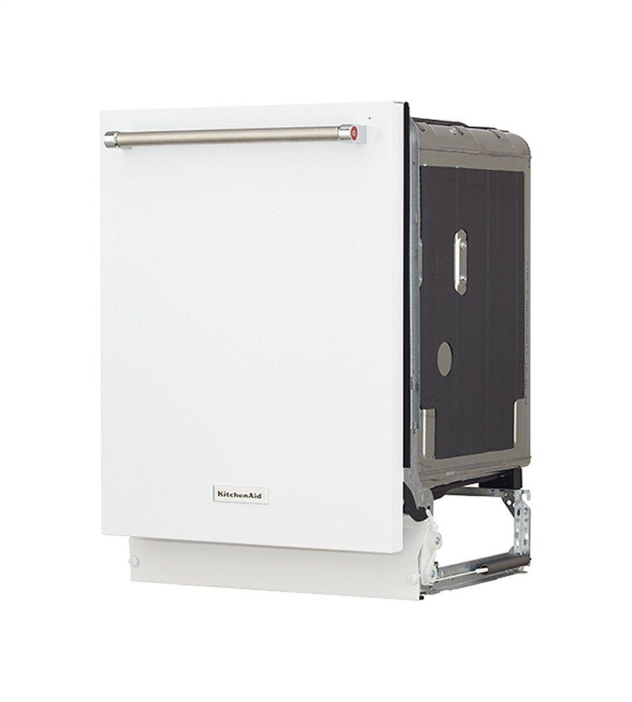 Kitchenaid Dishwasher White >> Kdte234gwh Kitchenaid 46 Dba Dishwasher With Third Level