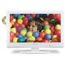 "Polaroid 32"" LCD TV w/DVD Combo - White"