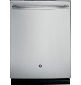 GE Profile Stainless Steel Interior Dishwasher with Hidden Controls