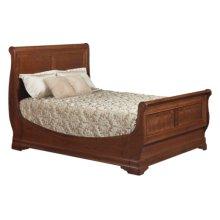 Versailles Sleigh Bed Twin