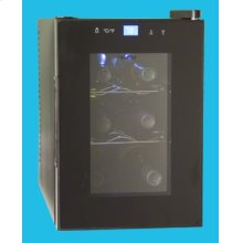 6-Bottle Capacity Wine Cellar with Touch Screen Light