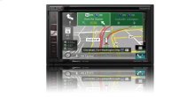 """In-Dash Navigation AV Receiver with 6.2"""" WVGA Touchscreen Display"""