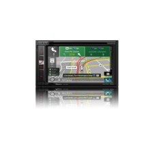 "In-Dash Navigation AV Receiver with 6.2"" WVGA Touchscreen Display"