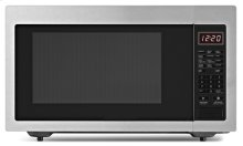 1.6 cu. ft. Countertop Microwave Oven - stainless_steel