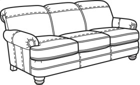 Bay Bridge Nuvo Sofa without Nailhead Trim
