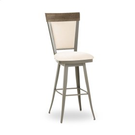 Eleanor Swivel Stool (distressed Wood)