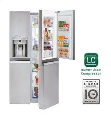 22 cu. ft. Large Capacity Side-by-Side Refrigerator w/Door-in-Door®