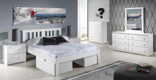 Milan Platform Bed With Ubc