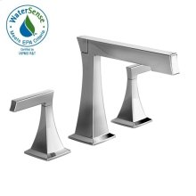 Pyke Widespread Lavatory Faucet - Polished Chrome