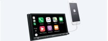 """6.95"""" (17.6-cm) CarPlay/Android Auto Media Receiver with BLUETOOTH®"""