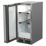 "Marvel 15"" Marvel Outdoor Refrigerator - Solid Stainless Steel Door With Lock - Right Hinge"