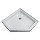 Neo-Angle Shower Bases - White Product Image