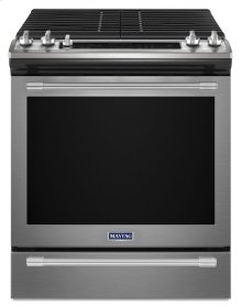 30-INCH WIDE GAS RANGE WITH TRUE CONVECTION AND MAX CAPACITY RACK - 5.8 CU. FT.