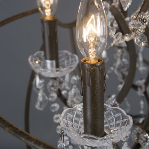 Groveland Collection Six Light Chandelier