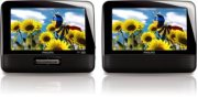 """7"""" LCD Dual screens Portable DVD Player Product Image"""