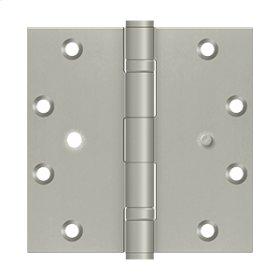 "5""x5"" Square Hinge, 2BB, Security - Brushed Nickel"
