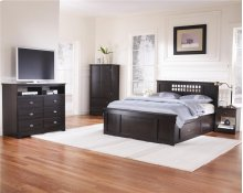 4-Drawer H20 Panel Captains Bed - King
