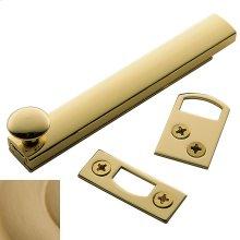 Vintage Brass General Purpose Surface Bolt