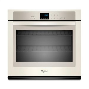 5.0 cu. ft. Single Wall Oven with extra-large window - BISCUIT