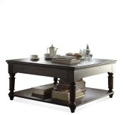 Belmeade Square Lift Top Coffee Table Old World Oak finish