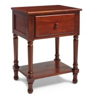 Traditional Nightstand in Cherry Finish Product Image