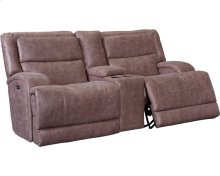 Zevon Reclining Rocking Console Loveseat