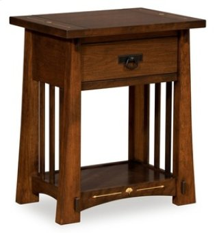 Castlebrook 1 Drawer Nightstand