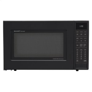 Sharp Appliances1.5 cu. ft. 900W Sharp Matte Black Carousel Convection Microwave Oven