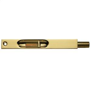 Lifetime Polished Brass Residential Flush Bolt Product Image