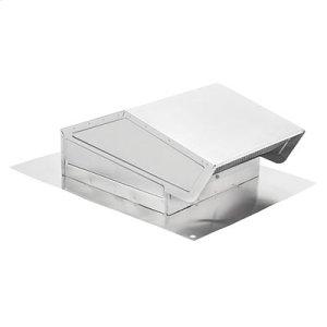 Roof Cap in Natural Aluminum Finish
