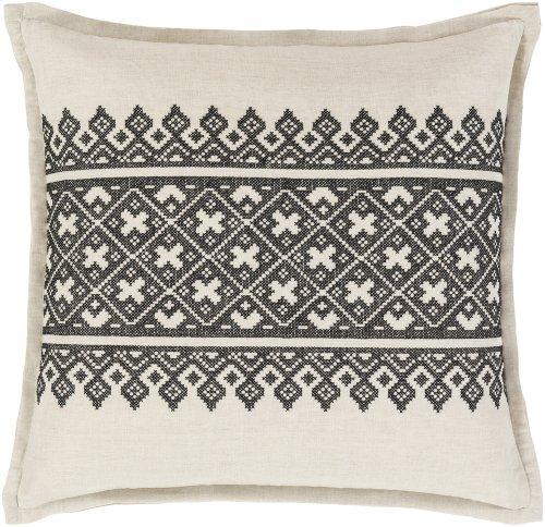 "Pentas PEN-002 18"" x 18"" Pillow Shell with Down Insert"