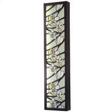 "10.25""W Magnolia LED Wall Sconce"
