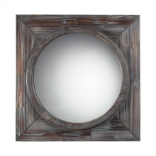 RECLAIMED WOOD FINISH WALL MIRROR