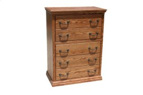O-T315 Traditional Oak 5-Drawer Chest