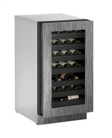 "Modular 3000 Series 18"" Wine Captain® Model With Integrated Frame Finish and Field Reversible Door Swing"