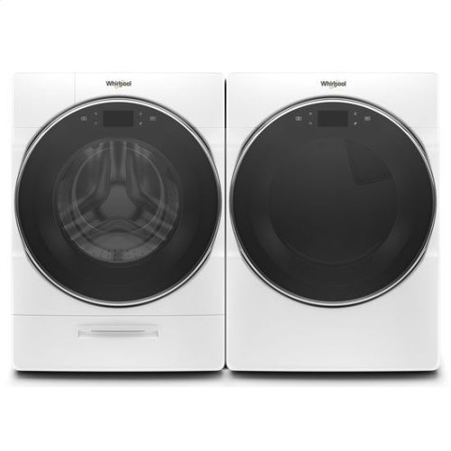 Whirlpool® 7.4 cu.ft Smart Front Load Electric Dryer with Remote Start - White