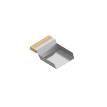 VeggieScoop 205338 - Stainless steel sink accessory , Maple