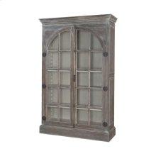 Manor Arched Door Display Cabinet