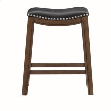 24 Counter Height Stool, Black