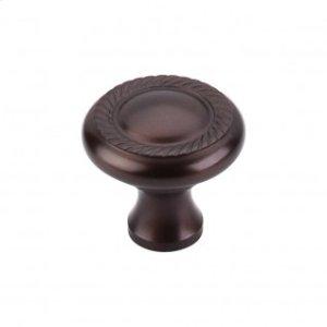Swirl Cut Knob 1 1/4 Inch - Oil Rubbed Bronze
