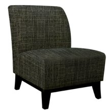 Emma Black Slip Cover - 5 pcs in 1 carton (Fits 383-607 Chair)