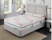 """Cool Jewel Serenade Cal King 6/0 Matt 12""""gel- Memory Foam Product Image"""