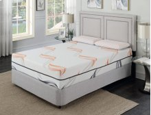 "Cool Jewel Serenade Queen 5/0 Matt 12""gel- Memory Foam"