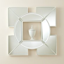 Arabesque Shadow Box Mirror-White