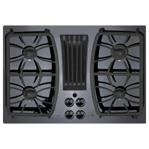 "GE Profile30"" Built-In Gas Downdraft Cooktop"